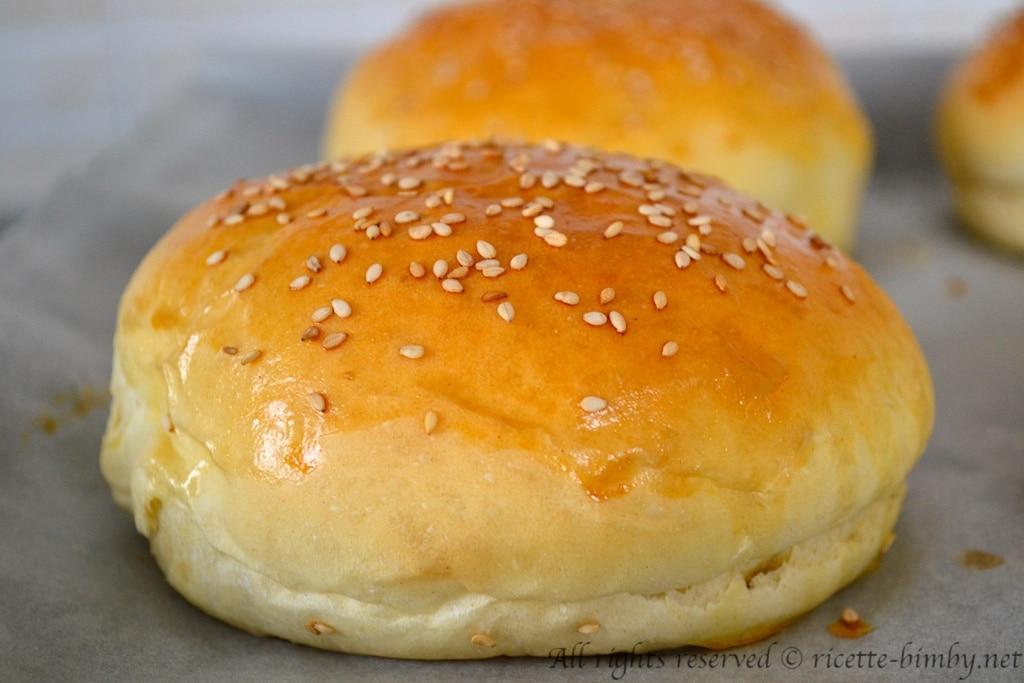 Popolare Burger Buns o Panini per Hamburger Bimby - Ricette Bimby ZY13