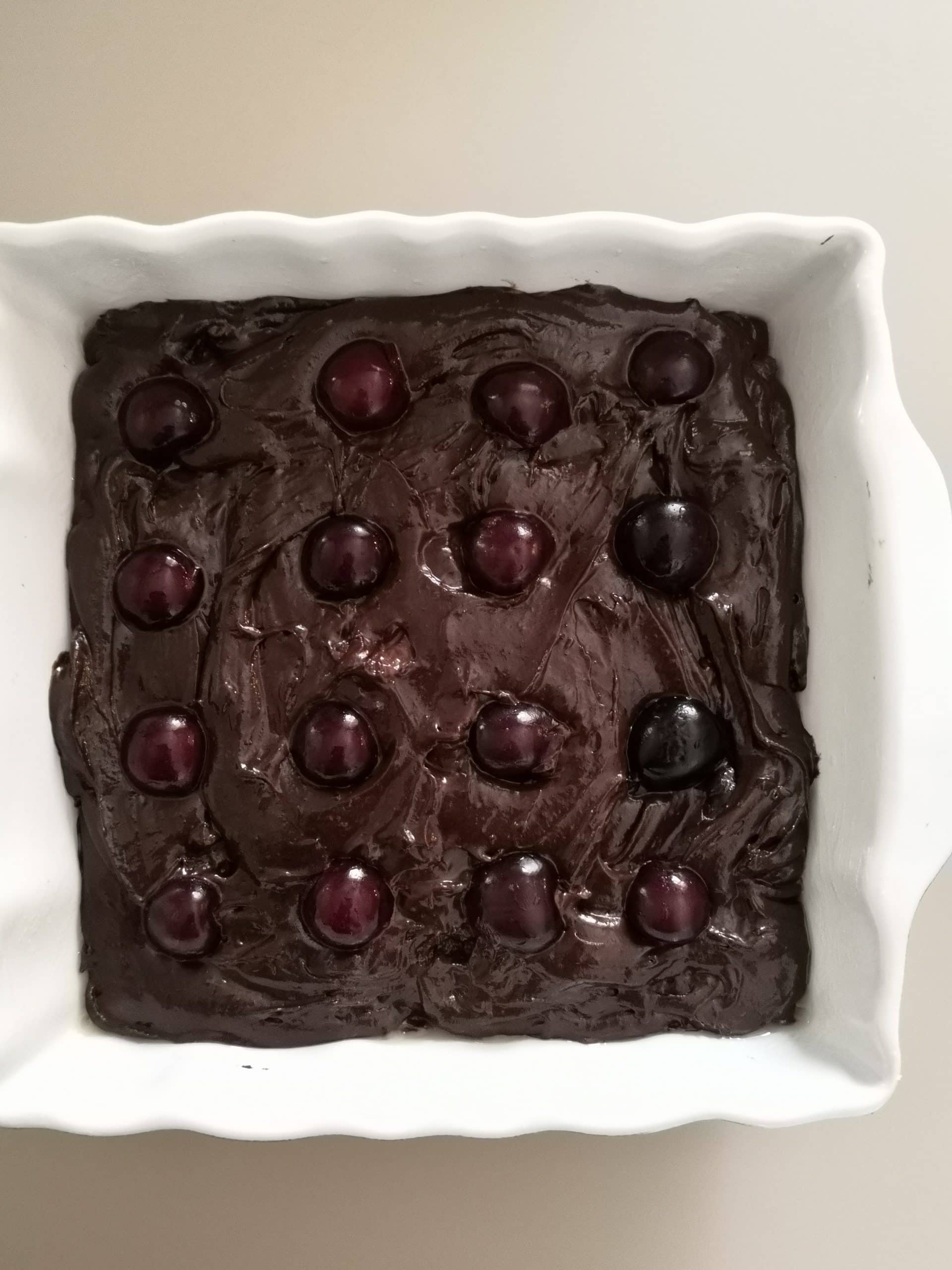 Brownies alle ciliegie bimby passaggi