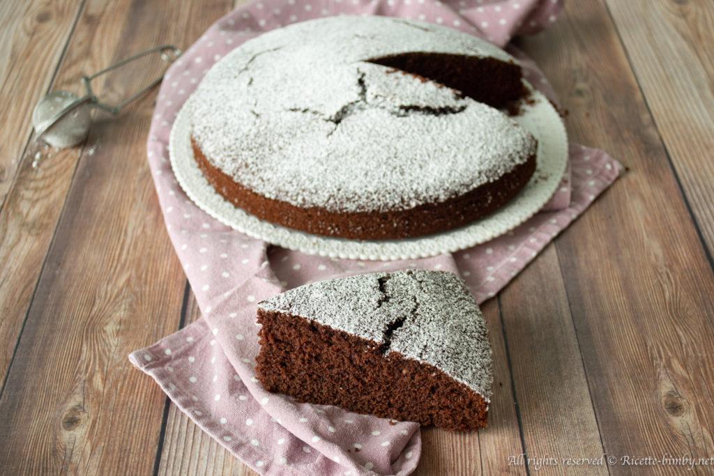 Torta al cioccolato senza glutine bimby